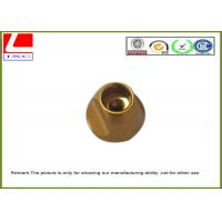 Wholesale Industrial Brass Precision Components , Machining Small Metal Parts Hub Deburr Finishing from china suppliers