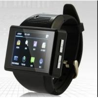 Wholesale AN1 Smart Watch Phone Mtk6515 dual core android 4.1 bluetooth GPS Wifi compass Playstore S from china suppliers