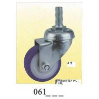 Wholesale Blue PVC small caster pvc caster caster wheel screw 061 from china suppliers