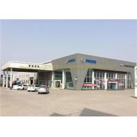 Wholesale ASTM BS Steel Frame Structure Car Showroom Steel Structure Workshop from china suppliers