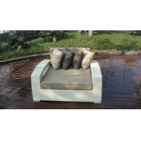 Wholesale Outdoor Rattan Furniture Lounge Sofa , Luxury Conservatory Sofa Bed from china suppliers