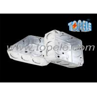 Wholesale 4 Inch Square Electrical Boxes And Covers With Knockouts Square from china suppliers