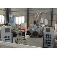 Wholesale Plastic Double Screw Extruder Conical Twin Screw Extruder With Auto - Cutter from china suppliers