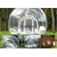 Wholesale Commercial Transparent PVC Lawn Inflatable Bubble Tent Balloon 4 M Diameter from china suppliers