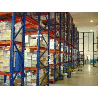 Wholesale Adjustable Warehouse Storage Pallet Racking , Multiple Levels High Racking System from china suppliers