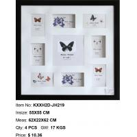 Wholesale wholesale plastic photo frame PS photo frame multi aperture photo frame home decor style from china suppliers