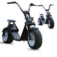 Wholesale Lithium Battery Electric Harley Scooter With 1000W Brushless Motor , CE Certification from china suppliers