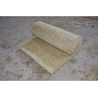Wholesale Rolled Rockwool Insulation Blanket Light Weight Building Material 25mm - 150mm Thick from china suppliers