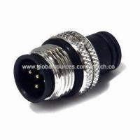 Wholesale 5-pin Male Water-resistant Adapter Connector, Compliant with RoHS Directive from china suppliers