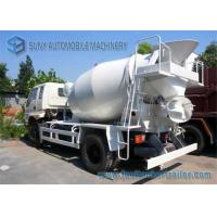 Wholesale 6 Cbm T King concrete mixer trucks 4100 MM Wheelbase Yuchai 130 Hp Engine from china suppliers