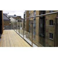 Wholesale Satin Stainless Steel Glass Railing from china suppliers