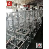 Wholesale Safety Heavy Loading 290mm Aluminum Square Exhibition System Spigot Lighting Truss from china suppliers