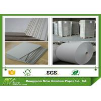 Wholesale Strong Adhesive Foldable Laminated Grey Board Thicker Gray Paperboard from china suppliers