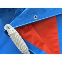 Wholesale custom made heavy blue/red laminated plastic canvas from china suppliers