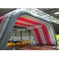 Wholesale Custom white  Inflatable tent size 10*5*5m for shelter or advertising from china suppliers
