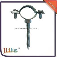 Wholesale Carbon Steel Clamp For Pipe , 1.3mm-1.5mm Thickness Pipe Support Clamps from china suppliers