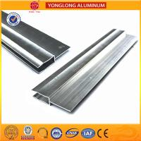 Wholesale Silver / Champagne Anodized Aluminum extrusion Profiles For industrial from china suppliers