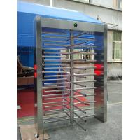 Wholesale Single Way Half Height Turnstile Gate , Automatic security revolving doors from china suppliers