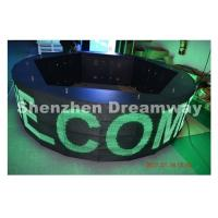 Wholesale WIFI control 360° Round led message board , led message display Waterproof Cabinet from china suppliers