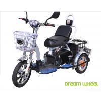 Wholesale 48V 350W/500W Electric Mobility Scooter , 3 Wheel Electric Bike For Two Passengers from china suppliers