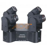 Buy cheap LED Amazing Four Heads Moving Head Light 9 / 13 Channel For Live Performance from wholesalers