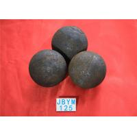 Wholesale Grinding Resisting Hot Rolled Steel Ball for Copper Mine / Gold Mine Dia 125mm from china suppliers