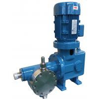 Wholesale High Pressure Motor Driven Diaphragm Pump 200LPH 110bar For Strong Corrosives Liquid from china suppliers
