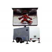 Wholesale PH10 RGB 16KW Waterproof Mobile LED Display screen 7500 nits For Vehicle / Van from china suppliers