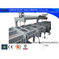 Wholesale Discontinous PU Sandwich Panel Production Line , Coil Width 1000-1250mm from china suppliers
