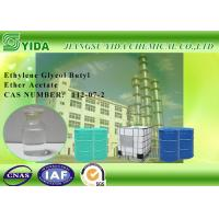 Slow Evaporating Ethylene Glycol Butyl Ether Acetate Cas No. 112-07-2 With SGS Standard
