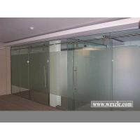 Wholesale Sheets Of Toughened Glazed Modular Office Partitions With Straight Glass Panels from china suppliers
