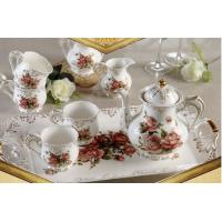 European ceramic coffee cup sets 8 pieces