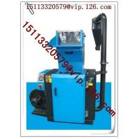 Wholesale 400-650kg/hr China recycling flat cutter saddle mute plastic crusher prices from china suppliers