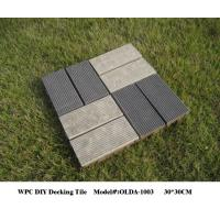 Wholesale plastic wood composite decking material 30cm*30cm(OLDA-1003) from china suppliers