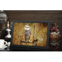 Quality 15.4'' LCD screen 1280x800 LCD Video Brochure USB AVI Black color advertising player for sale