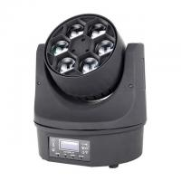 Buy cheap Beam Color Wash Bee Eye 	LED Moving Head Light Mini Size 6 *15W RGBW Disco Party Lighting from wholesalers