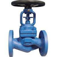 Wholesale Bolted Bonnet Bellows Seal Globe Valve PN40 Flange With Dual Seal from china suppliers