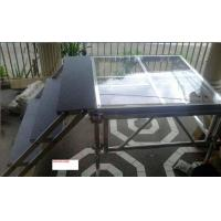Quality Portable aluminum acrylic stage platform for swimming pool , aluminium stage deck for sale