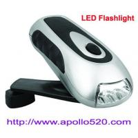 Buy cheap Wind Up Torch Crank Flashlight from wholesalers