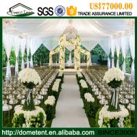 Wholesale Luxury Durable Aluminium Alloy Clear Span Wedding Party Tent 20 X 75m from china suppliers