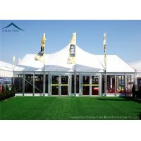 Wholesale Width 10m Elegant Mixed Glass Wall Canopy Tent Structures For Outside Events from china suppliers