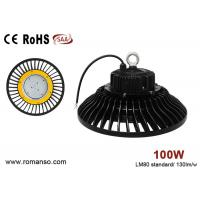 Cold White 13000 lumen 100 watt led high bay light , energy efficient warehouse lighting