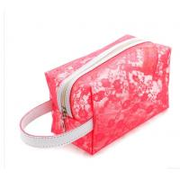 OEM Clear PVC Cosmetic Bag , Makeup PVC Toiletry Bag For Women
