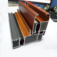 Wholesale Wooden Grain Aluminium Profile for Extrusion Aluminium from china suppliers