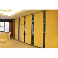 Wholesale 85 mm Thickness Sound Proofing Wooden Partition Walls With Aluminum Profile from china suppliers
