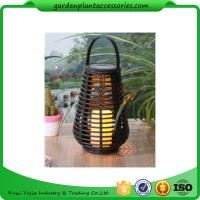 Wholesale Exterior Rattan Solar Lights , Solar Powered Yard Lights With 2V / 40MA Solar Panel from china suppliers
