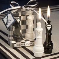 Wholesale King and Queen Chess Piece Candle Favors from china suppliers