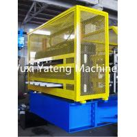 Quality 8 - 15m / Min Speed Trapezoidal Roof Panel Roll Forming Machine GI / Al Material for sale