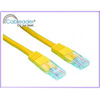 Wholesale High Speed Cat5e Network Cables with Yellow Color from china suppliers
