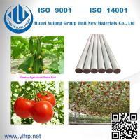 "Wholesale 5/16"" x 4 feet long Pencil Point end FRP Fiberglass Tomato Grape Stake from china suppliers"